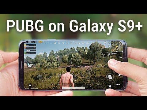 PlayerUnknown's Battlegrounds Test on Galaxy S9 Plus