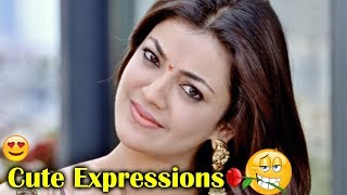 Kajal Agarwal Cute Expressions | Volga Videos