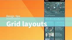Grid layouts for app and web design | Adobe XD