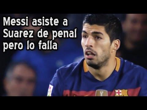 Messi Asiste A Suarez De Penal Y Falla (Parodia)