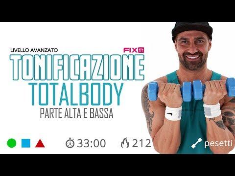 Workout Con Pesetti Total Body! Esercizi Cardio e Tonificazione Con Pesetti