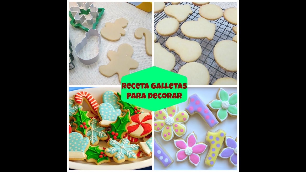 Galletas Thermomix Para Decorar Receta De Galletas Para Decorar Con Royal Icing O Fondant