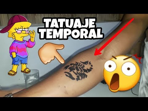 Como hacer un tatuaje muy fácilиз YouTube · Длительность: 3 мин36 с