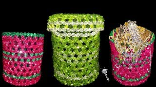 How To Make Jewellery Box at Home | Beaded Box