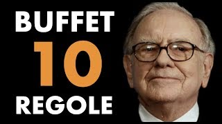 WARREN BUFFET ITA: Top 10 Regole Per il Successo