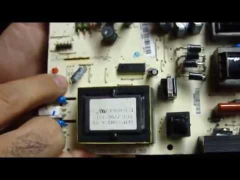 TV CCE 32 MODELO C320 Defeito Acende e Apaga (TECNO TESLA)