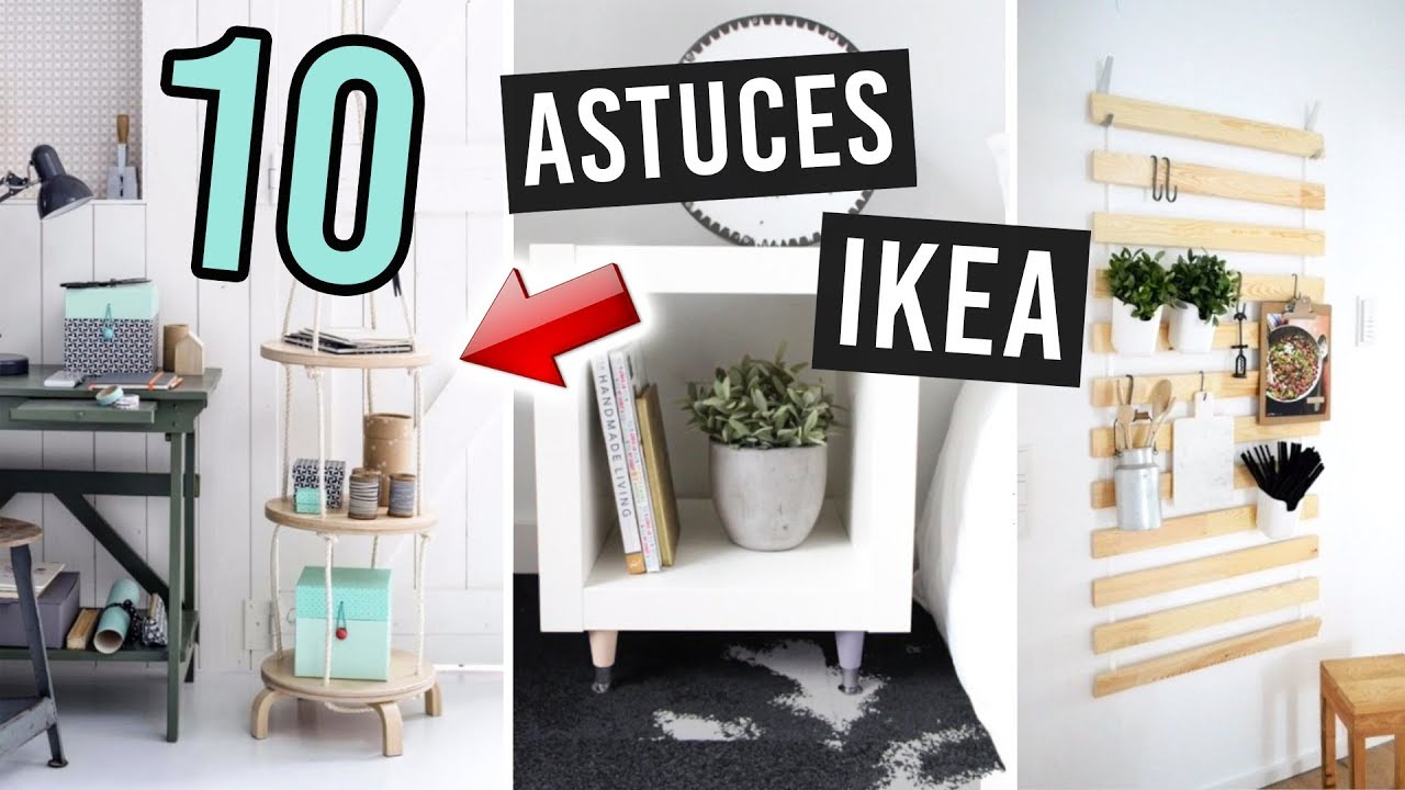 Deco 10 Astuces Ikea Special Petits Budgets Youtube