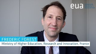 4th Funding Forum – Frederic Forest, Ministry for Higher Education, Research and Innovation, France thumbnail