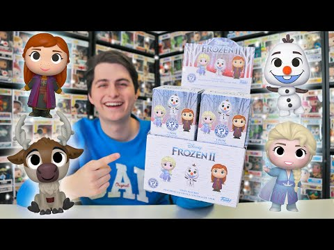 Case of Frozen 2 Mystery Minis Unboxing