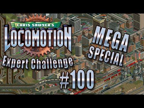 Chris Sawyer's Locomotion: Expert Challenge - Ep. 100: ROADTRAINS (MEGA SPECIAL)