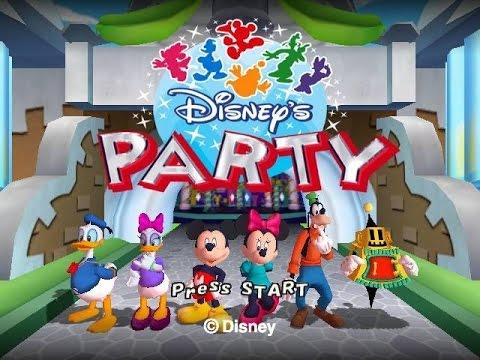 Disney S Party Game Gamecube Walkthrough Disney No