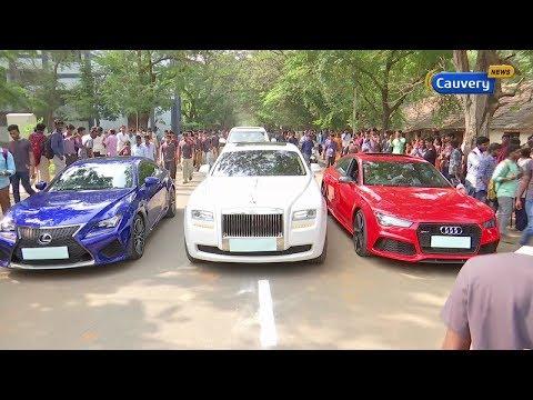சொக்க வைக்கும் சொகுசு கார்கள் | Luxury Cars | Car Expo | Auto Expo