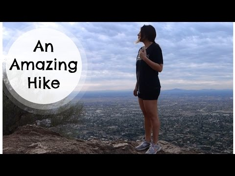 Hiking Camelback Mountain