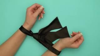 Галстук-бабочка для бондажа «Его правила»  из коллекции «На 50 Оттенков Темнее»