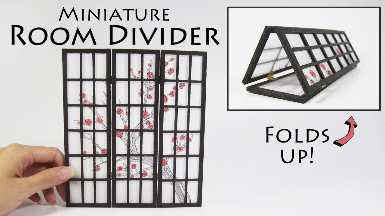 Dollhouse Miniature Room Divider