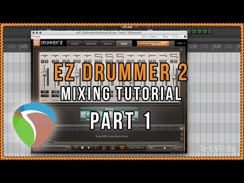 Mixing EZDrummer 2 Part 1
