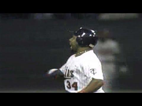 Gordon calls Puckett's Game 6 home run