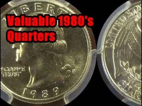 Search Your 1980's Washington Quarters For These Valuable Coins -  Collectors Paying $1,000's!