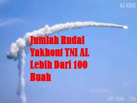 Jumlah Rudal Yakhon TNI Angkatan Laut  Lebih dari 100 Buah