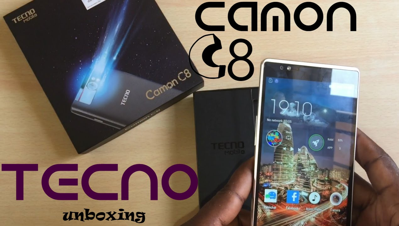 TECNO CAMON C8 Unboxing, Quick Review and Price