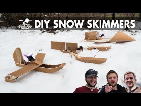 Snow Skimmer from 1 Sheet of Foamboard!