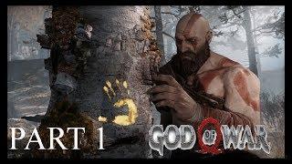 God Of War Walkthrough on Playstation 4 Pro Part 1