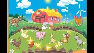 угадай животное на ферме игра для детей голоса животных