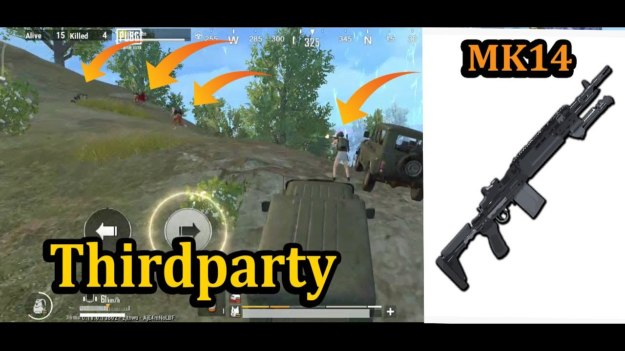 Best ThirdParty Ever | Pubg Mobile Lite | Solo VS Squad GamePlay Video | Power Of MK14 | I.T Gamers.