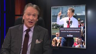 real time with bill maher what happened to rand paul hbo