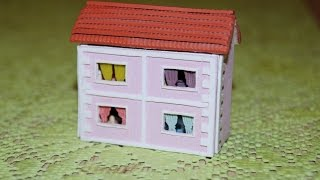 Кукольный домик. Миниатюра. Часть 1 / Dollhouse. Miniature. Part 1(Всем привет! Сегодня я покажу как сделать миниатюрный домик. Нам понадобятся: бальса 2мм полимерная глина..., 2016-07-20T21:14:41.000Z)