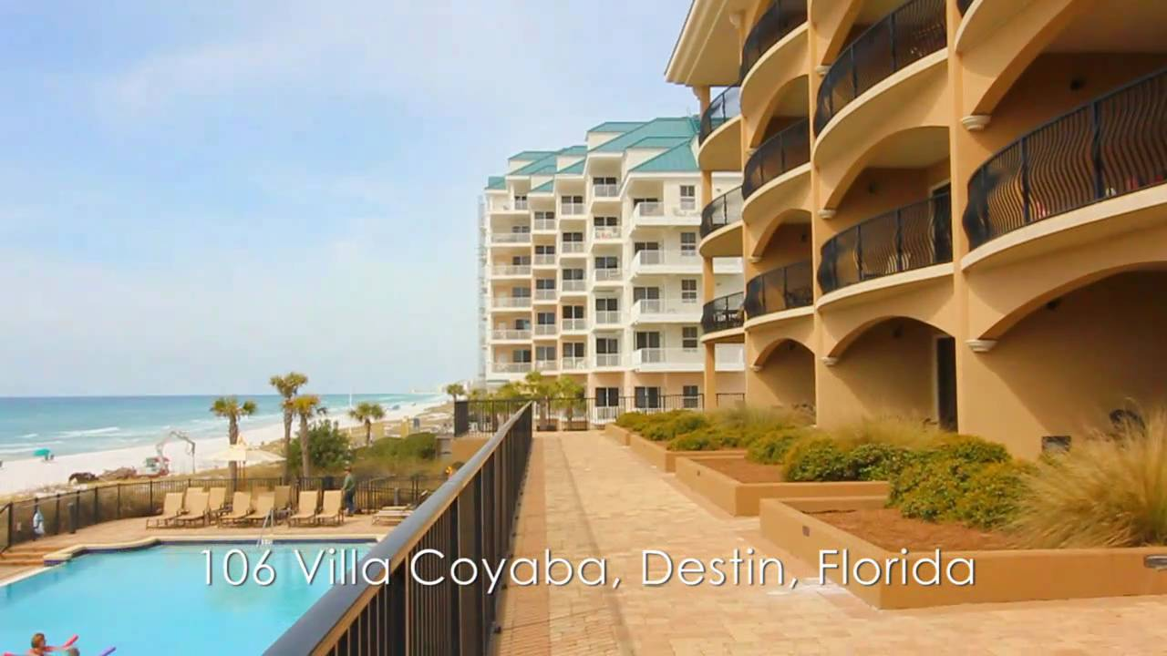 Destin florida 4br gulf front vacation rental condo 106 - Destin florida 4 bedroom condo rentals ...