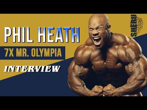 Phil Heath 7x Mr. Olympia Interview At IHFF || SHERU CLASSIC