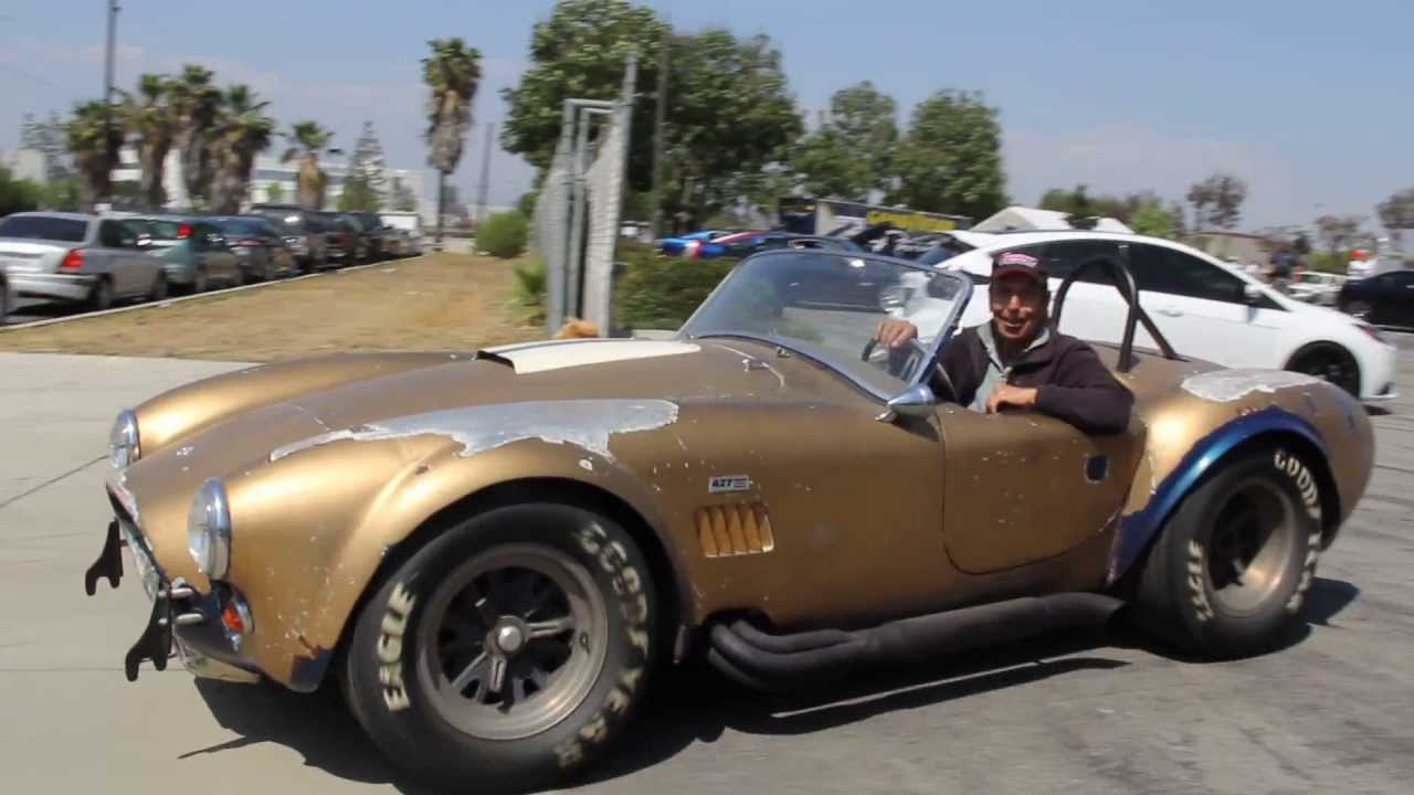 ac cobra 427 original unrestored youtube