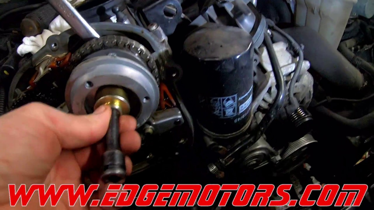 medium resolution of audi q5 a4 vw golf jetta 2 0t tfsi timing chain replacement diy by edge motors part 1