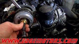 Audi Q5 A4 Vw Golf Jetta 2.0T tfsi Timing Chain Replacement DIY by Edge Motors Part 1