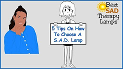 How To Choose A SAD Lamp : Light Therapy