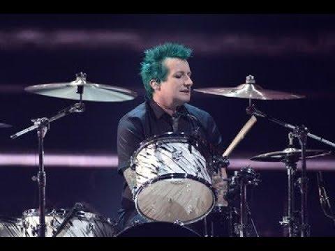 Green Day - Basket Case (Tré Cool Drums Track)
