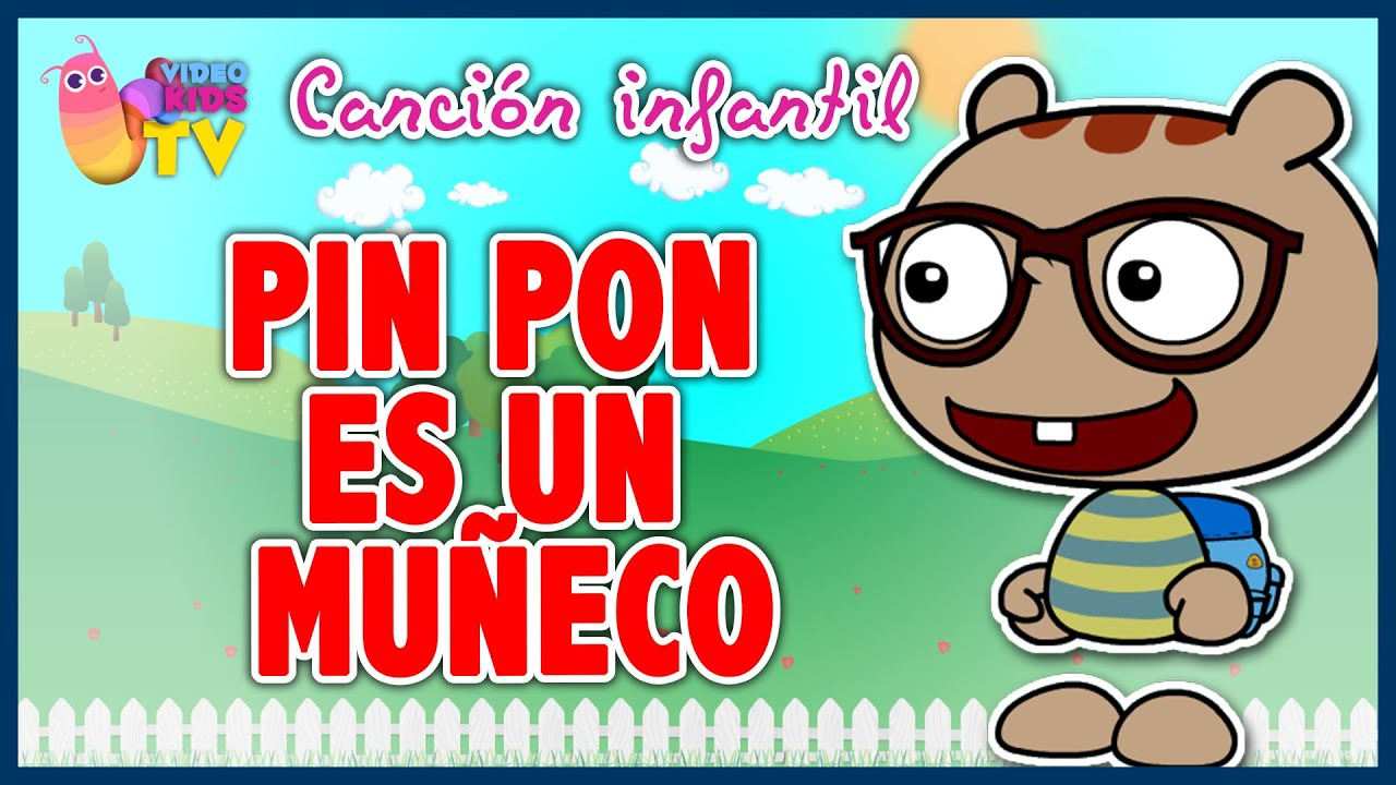 pin pon es un mu eco canci n infantil completa con dibujos animados youtube. Black Bedroom Furniture Sets. Home Design Ideas