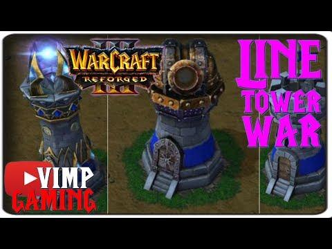 Warcraft 3 Reforged | Line Tower Wars | Ice Elemental