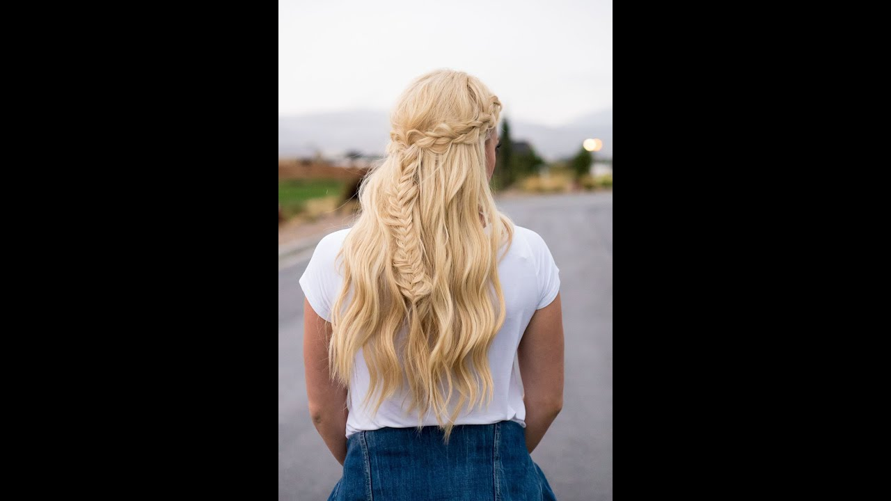 Fashion week Hairstyles Hippie braids for woman