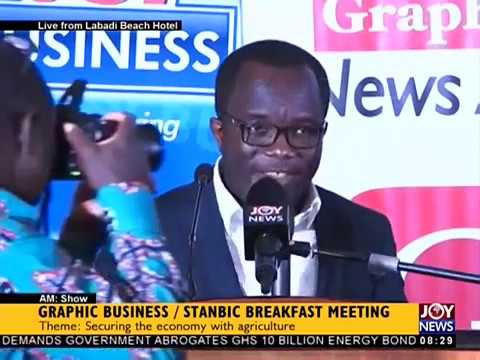 Graphic Business/Stanbic Breakfast Meeting - AM Show on JoyNews (31-10-17)