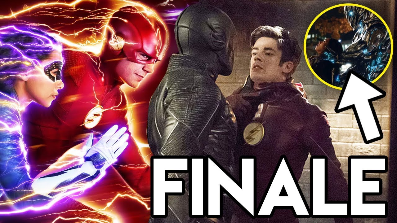 Barry & Nora TIME TRAVEL & Nora's Mystery REVEALED - The Flash 5x08 FINALE Promo Breakd