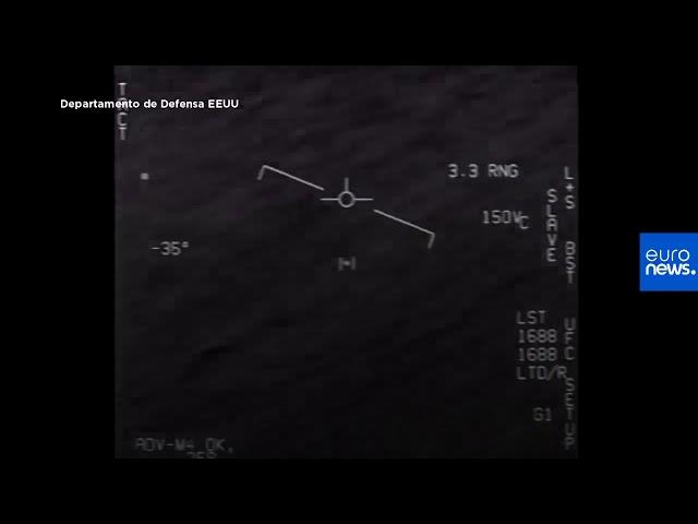 Imágenes de OVNIS desclasificadas por el Pentágono - 3 Grabaciones reales