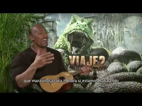 The Rock singing