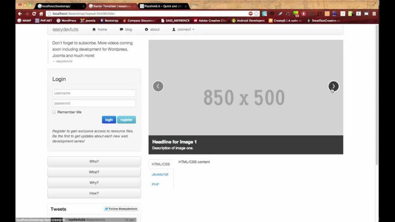 How to create carousel with bootstrap 4 tutorial republic.
