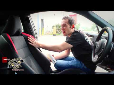 How To: Protecting Suede Alcantara - Fabric Guard Chemical Guys EPIC CAR CARE