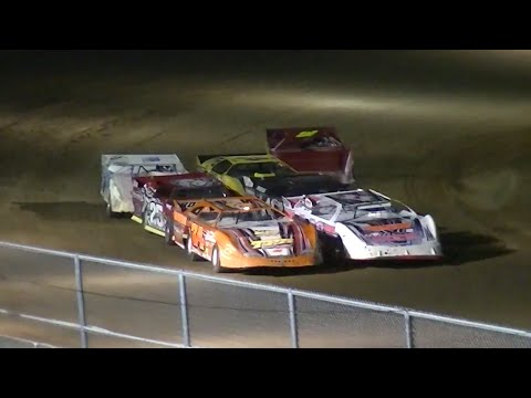 RUSH Crate Late Model B-Main Two | McKean County Raceway | Fall Classic | 10.10.14