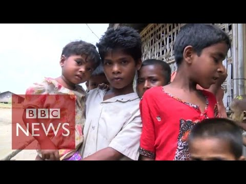 Myanmar migrants ransomed by traffickers - BBC News