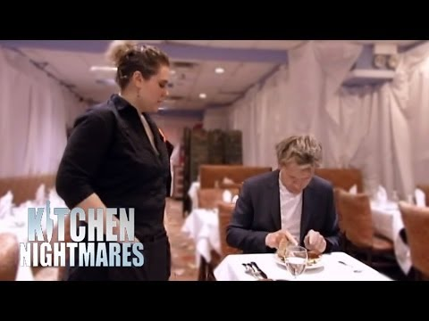 Gordon's Awful First Meal at Dillons - Kitchen Nightmares