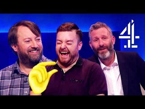 David Mitchell & Zawe Ashton Look at the New Emojis!! | The Last Leg